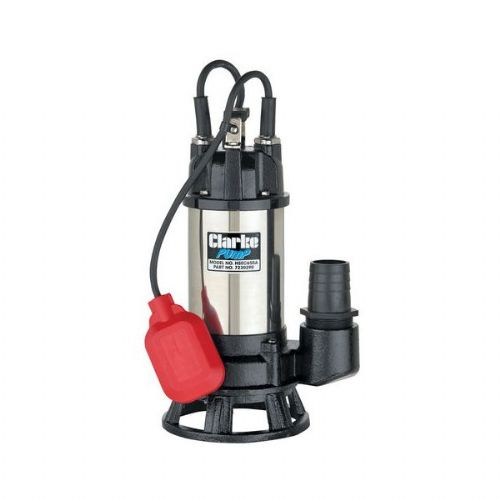"Clarke HSEC650A 2"" Industrial Submersible Dirty Water Cutter Pump 290 Litres/Min 240V~50Hz"